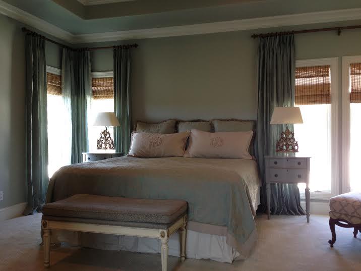 aqua bedroom after